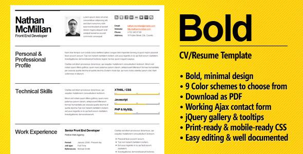 the resume - Smart Resume Builder