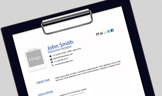 John Smith Free Html Resume Template Free and Premium Resume Templates for html Websites