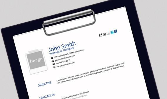 John Smith Free Html Resume Template Free and Premium Resume Templates