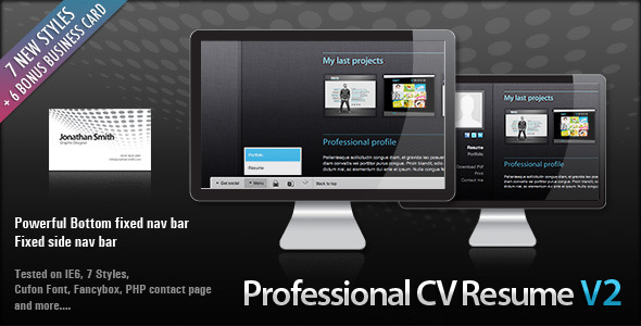 Professional Clean HTML CV RESUME Free and Premium Resume Templates for html Websites