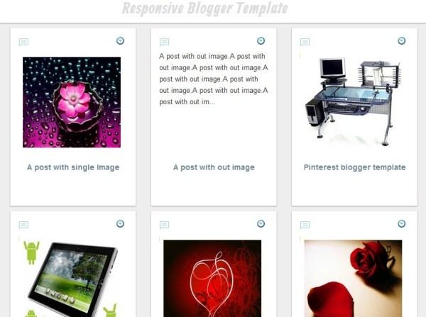 pinterest blogger template
