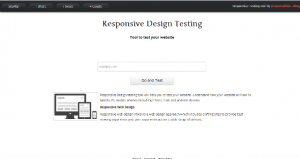 Responsive Design Testing Tool and Bookmarklet
