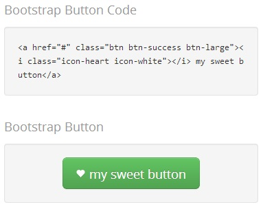 Bootstrap-Button-Generator-Output
